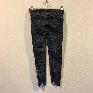 lululemon athletica Pants - Lululemon black with white dot leggings